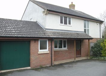 Thumbnail 4 bed detached house to rent in Keltings, Wembdon, Bridgwater