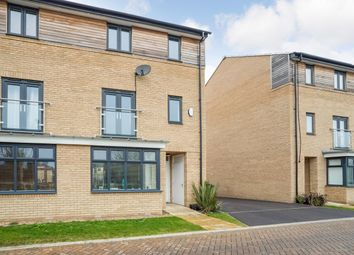 Thumbnail 4 bed semi-detached house for sale in Tern Drive, St Ives