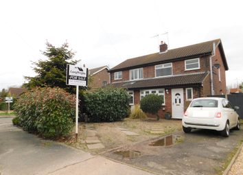 Thumbnail 3 bed semi-detached house for sale in Melrose Close, Oulton, Lowestoft