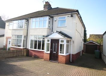 Thumbnail 3 bed semi-detached house to rent in Longsight Road, Bury