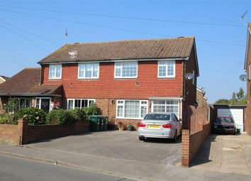 Thumbnail 3 bed semi-detached house for sale in Hithermoor Road, Staines