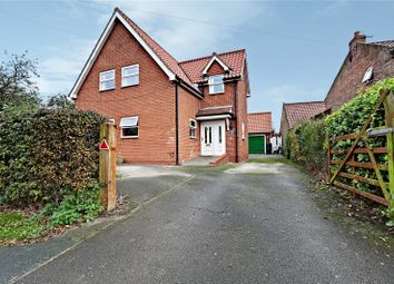 Thumbnail 4 bed detached house for sale in Main Road, Humbleton, Hull