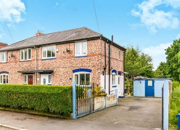 Thumbnail 3 bed semi-detached house for sale in Longton Road, Blackley, Manchester