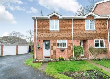 Thumbnail 2 bed end terrace house to rent in Hazel Coppice, Hook