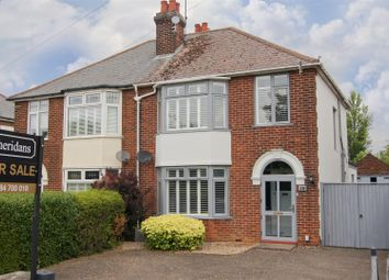 Thumbnail 3 bed semi-detached house for sale in Newmarket Road, Bury St. Edmunds