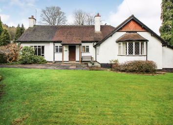 Thumbnail 2 bed detached bungalow for sale in Lake Road, Rudyard, Staffordshire