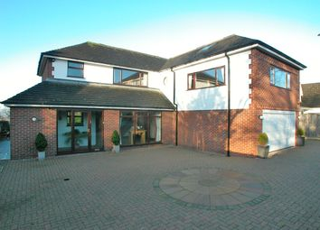 Thumbnail 4 bed detached house for sale in School Lane, Little Neston, Cheshire