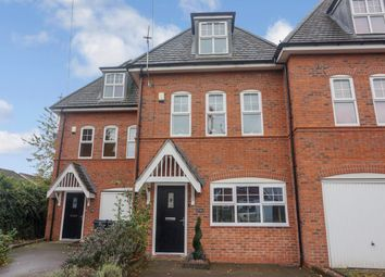 Thumbnail 4 bed terraced house for sale in Rectory Road, Sutton Coldfield