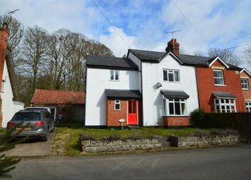 Thumbnail 3 bed semi-detached house for sale in Stour Cottages, Wixoe, Suffolk