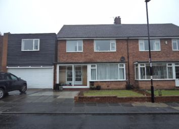 Thumbnail 5 bed semi-detached house to rent in Oakhurst Drive, Gosforth, Newcastle Upon Tyne