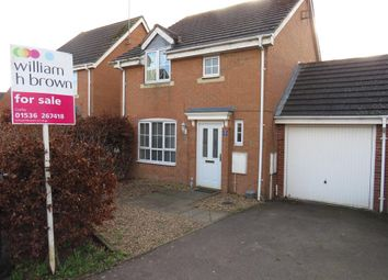 3 bed link-detached house for sale in Foxglove Close, Corby NN18