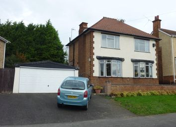 Thumbnail 3 bedroom detached house for sale in Alexander Avenue, Earl Shilton, Leicester