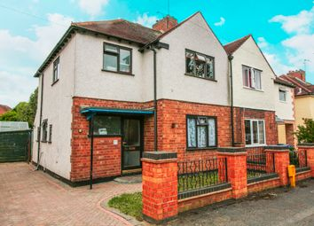Thumbnail 3 bed semi-detached house for sale in Lawrence Road, Rugby
