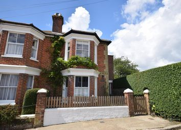 Thumbnail 3 bed semi-detached house for sale in Guildford Road, St. Helens, Ryde