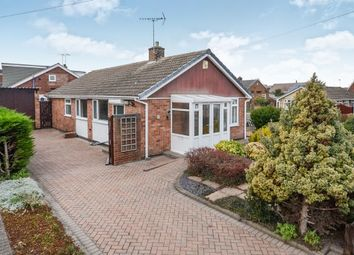 Thumbnail 3 bed detached bungalow for sale in Falcon Close, Haxby, York