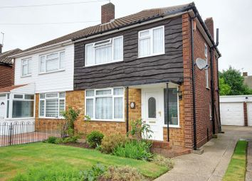 Thumbnail 3 bed semi-detached house for sale in Charcroft Gardens, Ponders End, Enfield