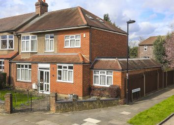 Thumbnail 4 bedroom end terrace house for sale in Willow Road, Enfield