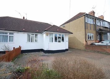 Thumbnail 3 bedroom semi-detached bungalow to rent in Lime Grove, Ruislip