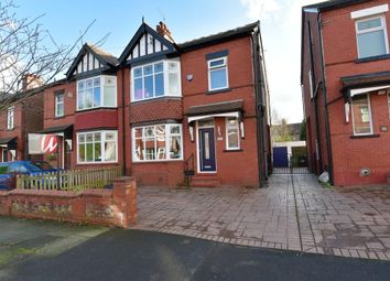 Thumbnail 4 bed semi-detached house for sale in Wellfield Road, Offerton, Stockport
