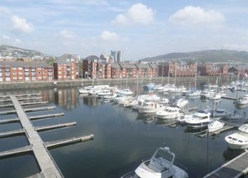 Thumbnail 1 bedroom flat for sale in Meridian Wharf, Trawler Road, Swansea