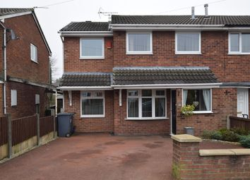 Thumbnail 3 bed semi-detached house for sale in Newport Grove, Chesterton, Newcastle-Under-Lyme
