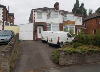 Thumbnail 3 bed semi-detached house for sale in Chipperfield Road, Hodge Hill