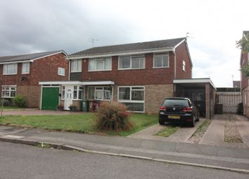 Thumbnail 3 bed semi-detached house for sale in Condover Close, Bentley, Walsall