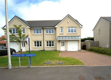 Thumbnail 4 bedroom semi-detached house for sale in Bishopston Gardens, Portlethen, Aberdeen