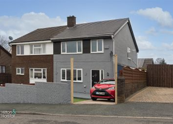Thumbnail 3 bed semi-detached house for sale in Hollins Road, Nelson