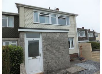 Thumbnail 4 bed end terrace house for sale in Heathfield Drive, Barry