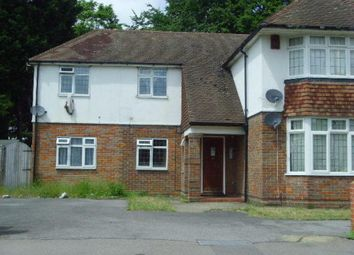 Thumbnail 1 bed flat to rent in Malzeard Road, Luton