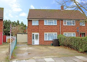 Thumbnail 3 bed semi-detached house for sale in Denbigh Drive, Hayes