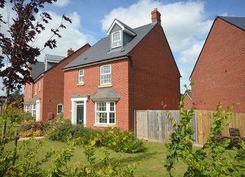 Thumbnail 4 bedroom detached house for sale in Hawkins Road, Hillside Gardens, Exeter