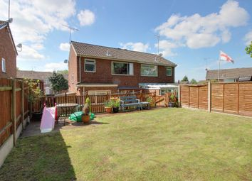 Thumbnail 3 bed semi-detached house for sale in Marlborough Way, Uttoxeter