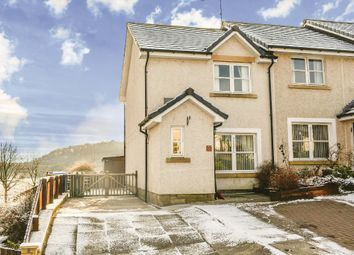 Thumbnail 2 bed end terrace house for sale in Old Kirk Loan, Aberfoyle, Stirling