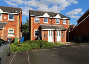 Thumbnail 2 bed semi-detached house to rent in Celandine, Kettlebrook, Tamworth, Staffordshire
