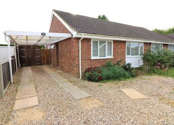 Thumbnail 3 bed semi-detached bungalow for sale in Crosskeys Way, Mattishall