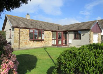 Thumbnail 1 bed detached bungalow for sale in Trelyon Close, St Buryan, Penzance, Cornwall.
