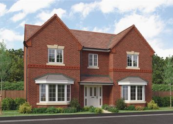"Thumbnail 4 bedroom detached house for sale in ""Aston"" at Barnards Way, Kibworth Harcourt, Leicester"