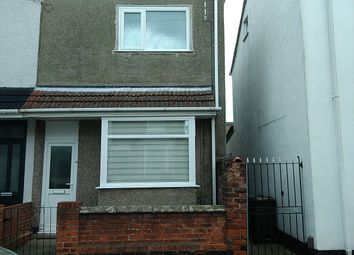 Thumbnail 3 bed terraced house to rent in Elm Avenue, Cleethorpes