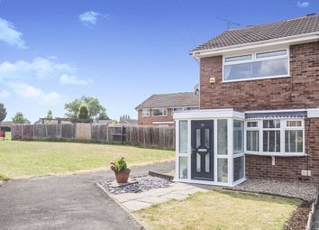 Thumbnail 2 bed semi-detached house for sale in Zealand Close, Hinckley