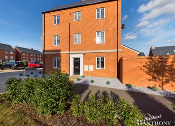 Thumbnail 4 bed town house for sale in Barge Crescent, Kingsbrook, Aylesbury