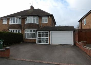 Thumbnail 4 bed semi-detached house for sale in Hawthorn Avenue, Birstall, Leicester, Leicestershire