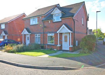 Thumbnail 2 bed semi-detached house for sale in Helmsley Close, Bewsey, Warrington