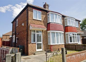 Thumbnail 3 bed semi-detached house for sale in Deva Close, Longlands, Middlesbrough