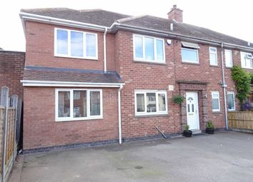 Thumbnail 4 bed semi-detached house for sale in Featherston Drive, Burbage, Hinckley
