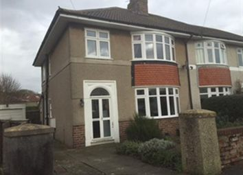 Thumbnail 3 bed semi-detached house for sale in Ellesmere Road, Uphill, Weston-Super-Mare