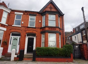 Thumbnail 3 bedroom end terrace house for sale in Centreville Road, Liverpool