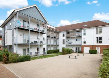Thumbnail 2 bed flat for sale in Howden Drive, Addlestone, Surrey
