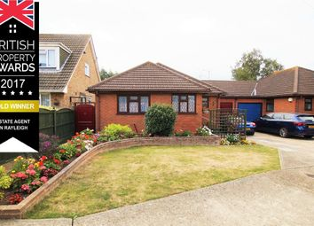 Thumbnail 2 bed detached bungalow for sale in Royal Close, Ashingdon, Essex